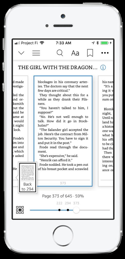 Amazon Kindle for iOS