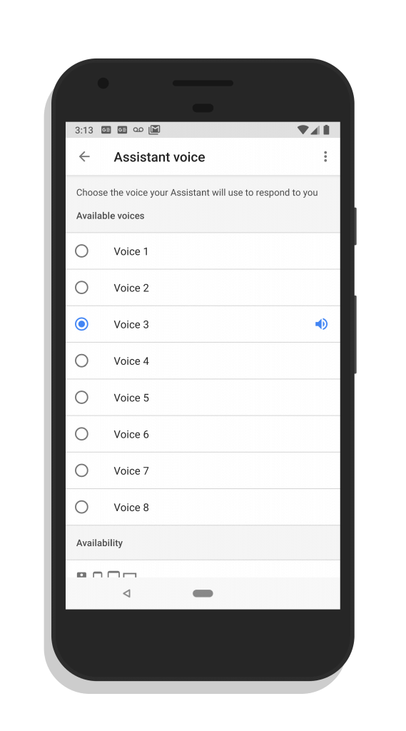 Google Assistant Voices for Android