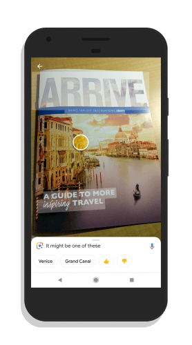 Google Lens Real Time Information