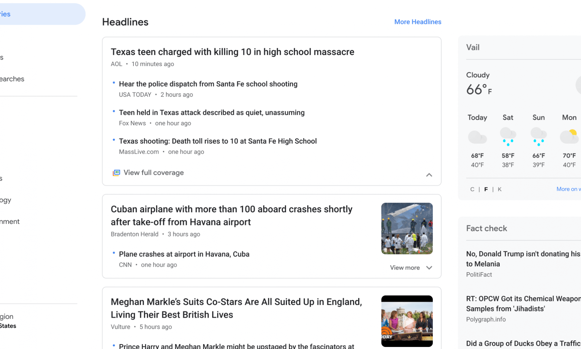 Google News Material Design - May 2018