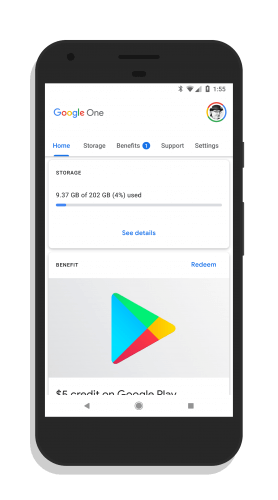 Google One for Android