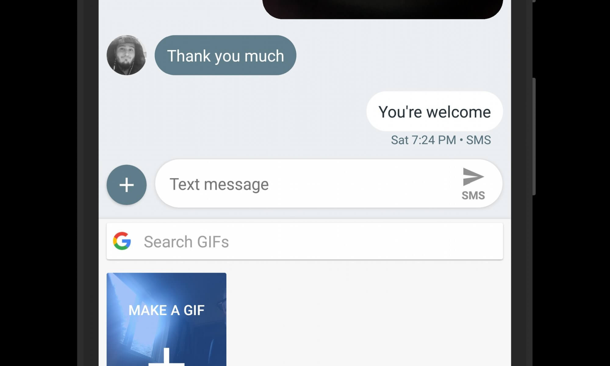 Make Your Own GIF in Gboard