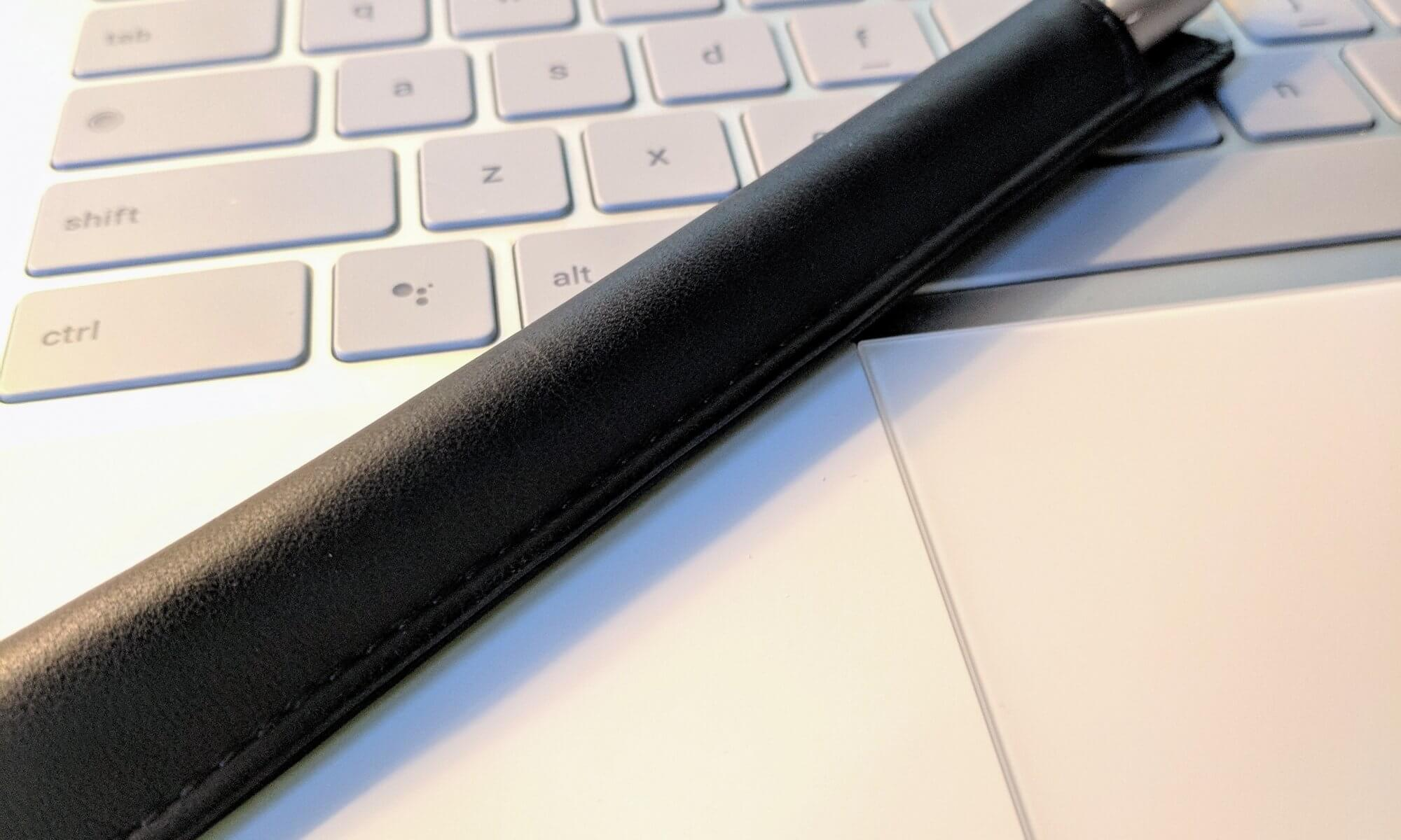 Noreve Apple Pencil Case on Pixelbook