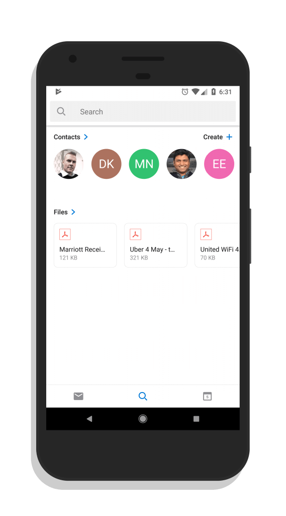Outlook for Android - May 2018