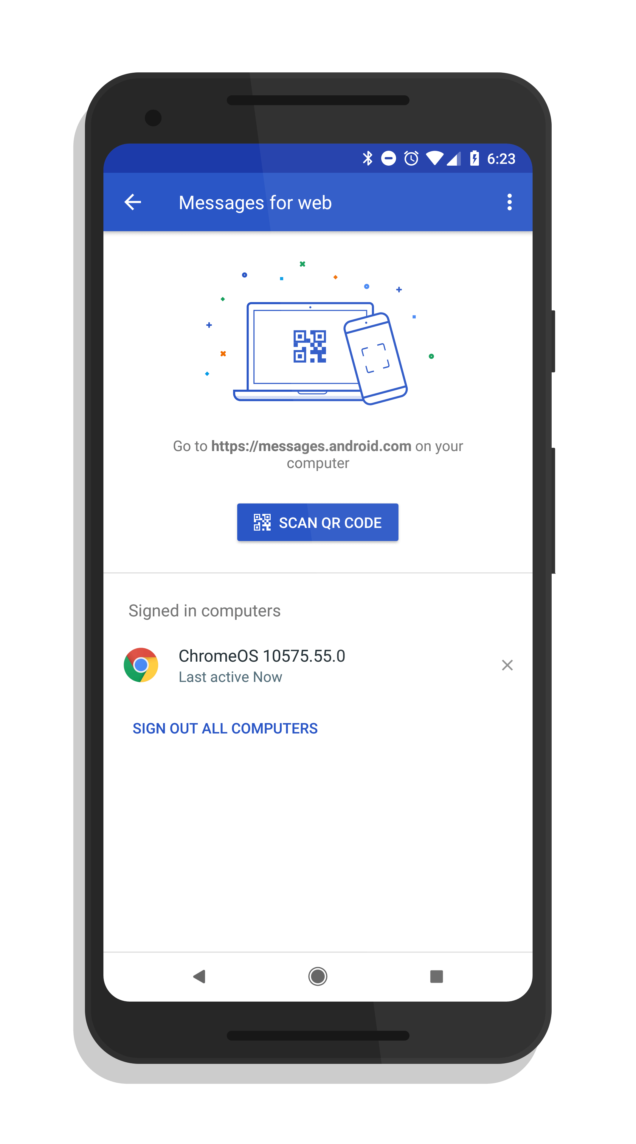 Android Messages for Web Now Fully Deployed According to