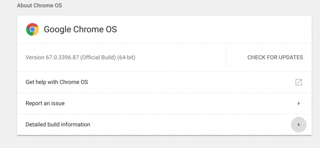 Chrome OS Build Page