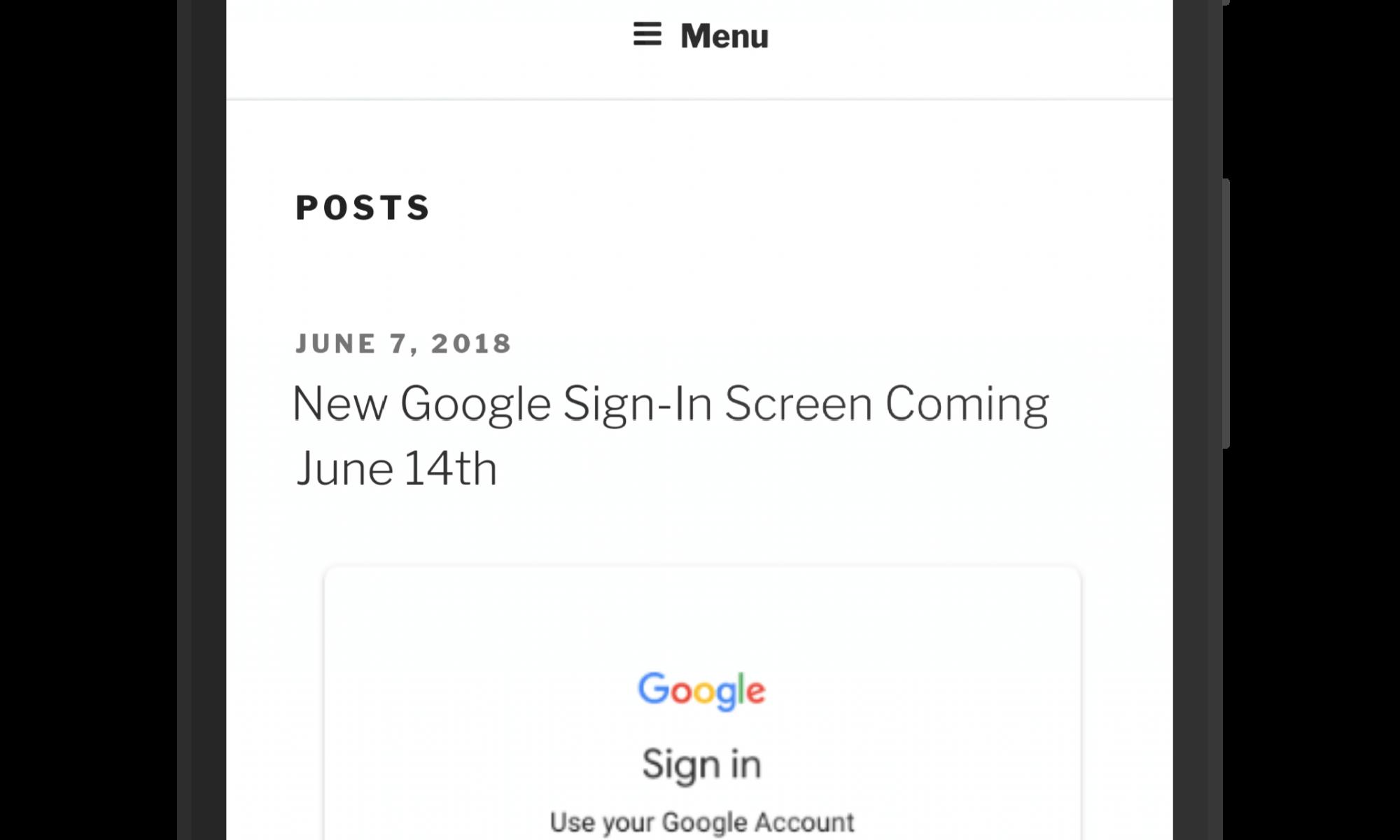 Chrome for Android Beta - Chrome 68