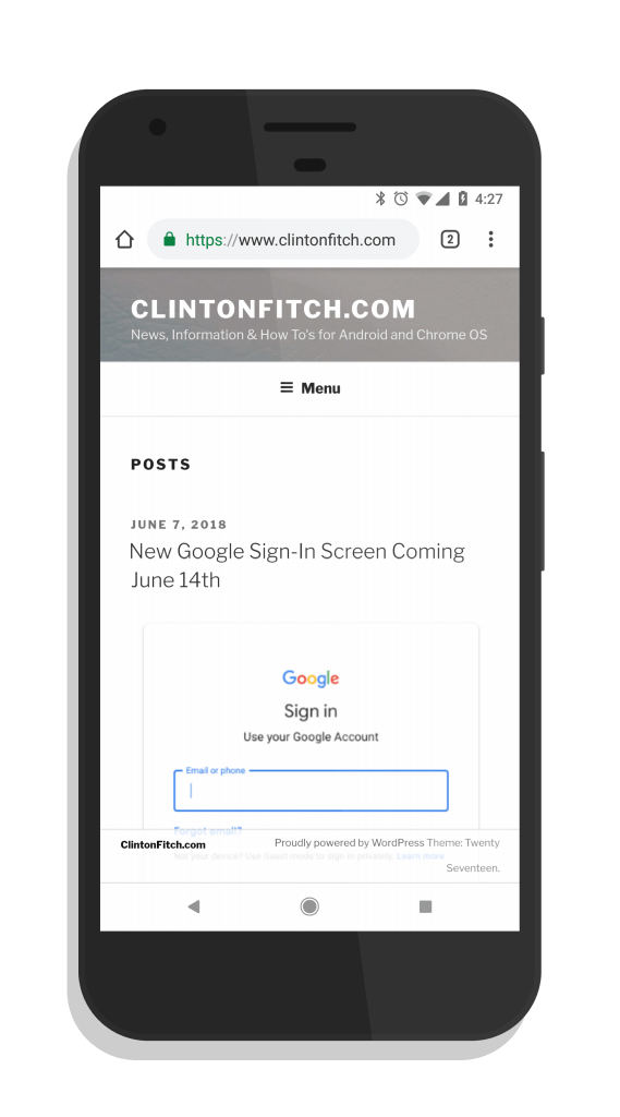 Chrome for Android Beta - Chrome 68