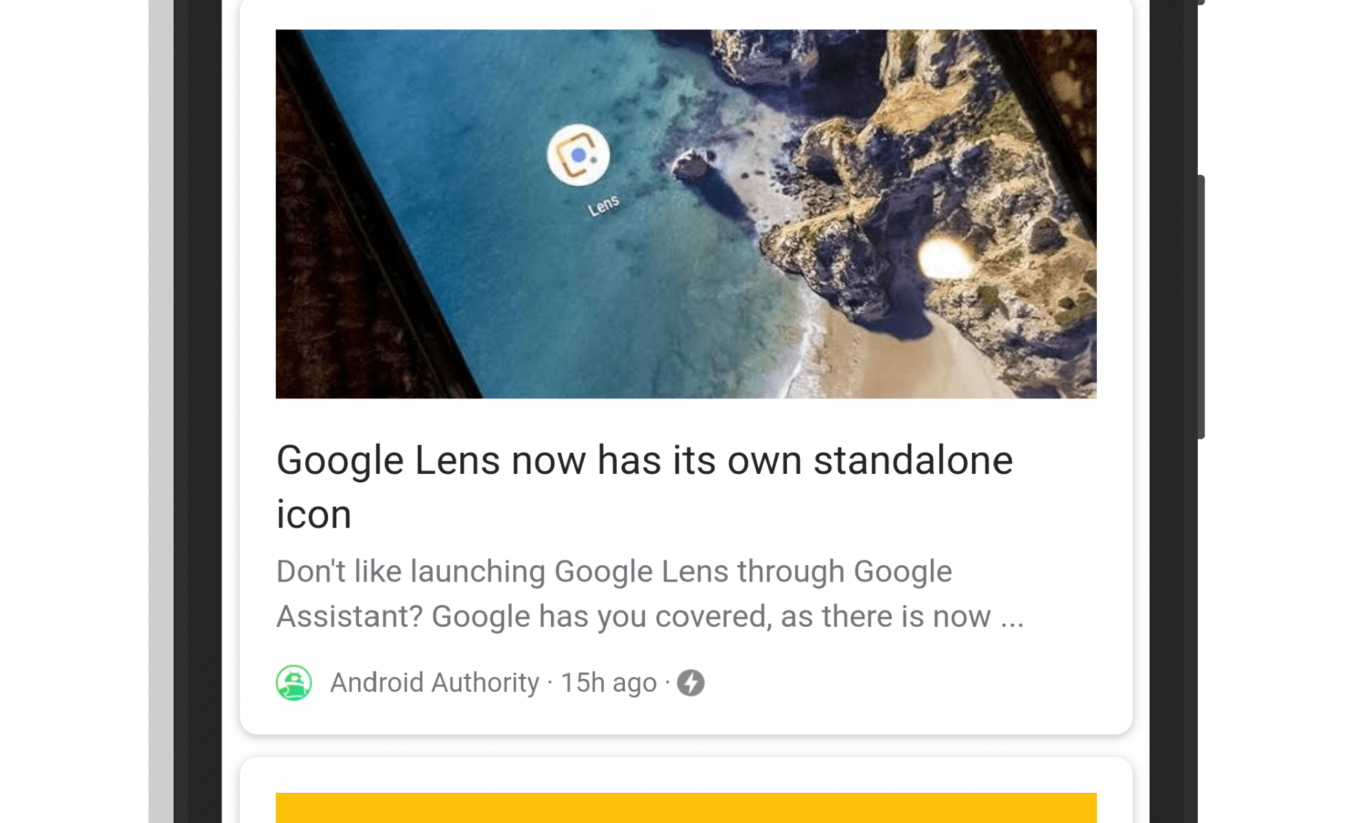Google Feed Dedicated Topic Pages