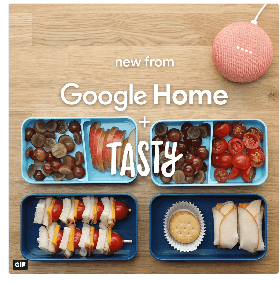 Google Home and Tasty