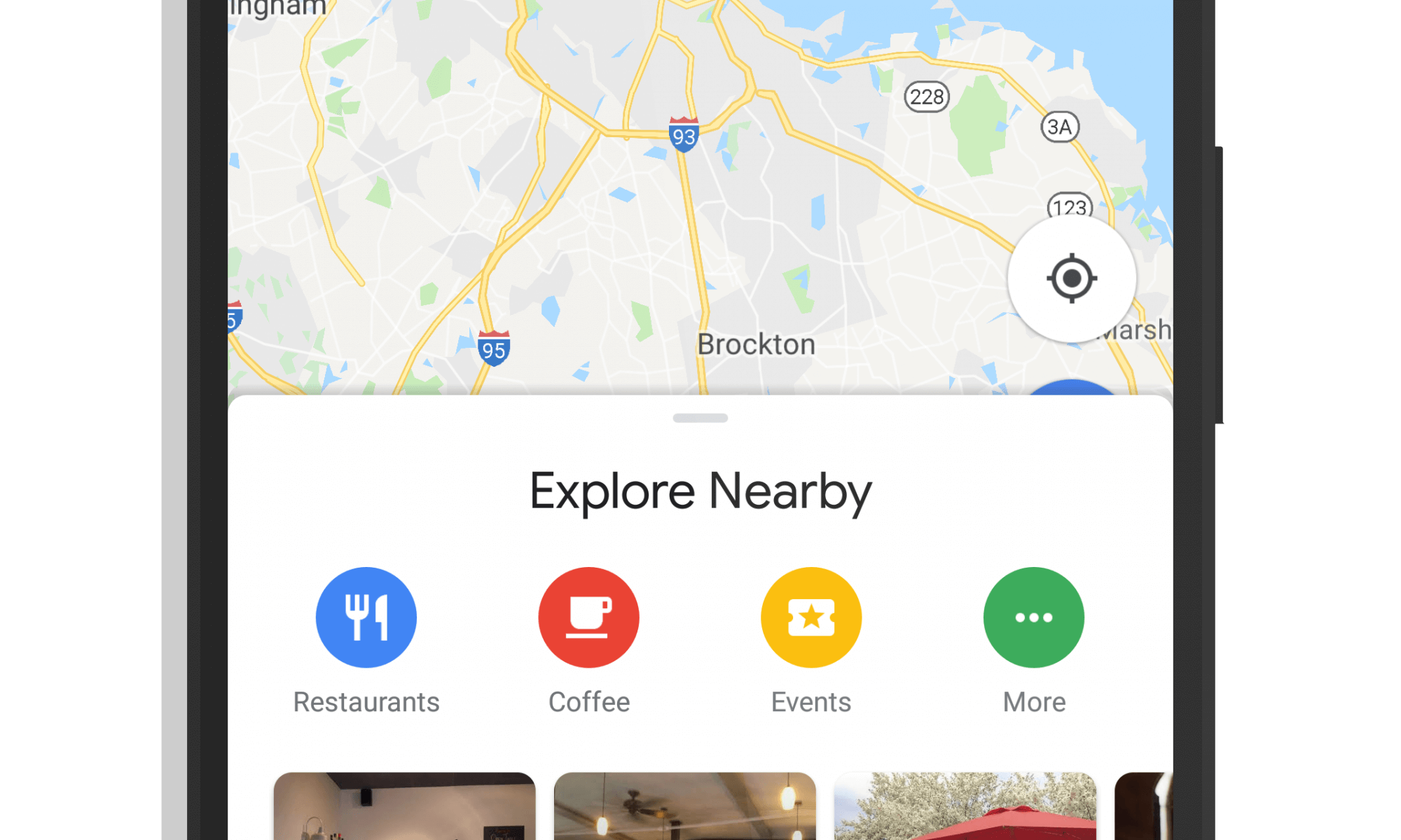 Google Maps Material Design Makeover - June 2018