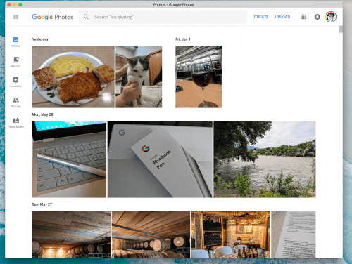 Google Photos Progressive Web App