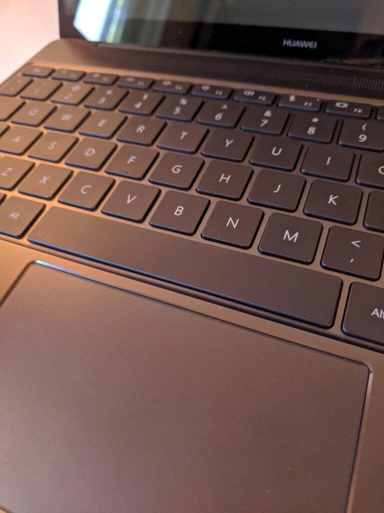 Matebook X Keyboard and Trackpad
