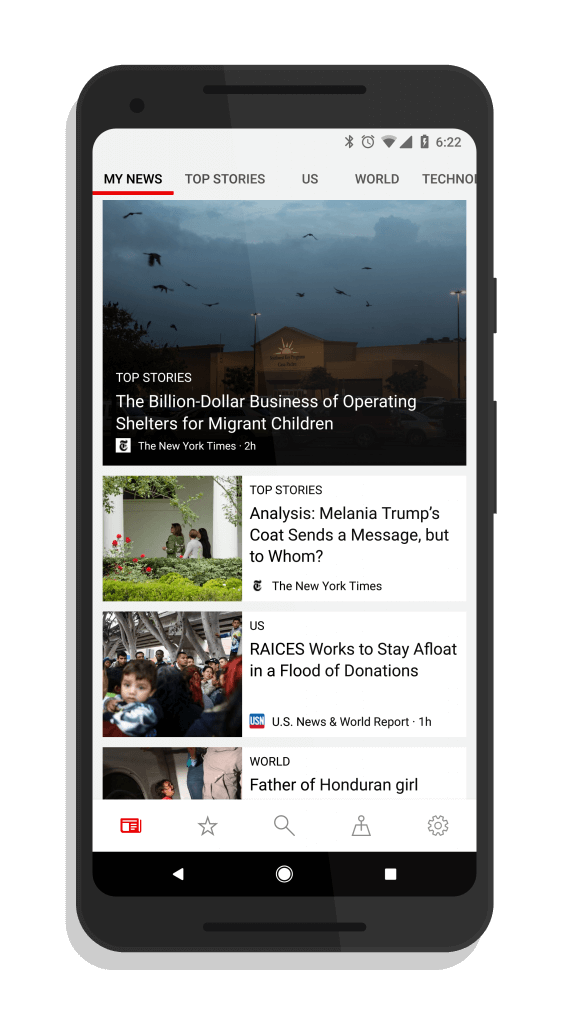 Microsoft News for Android