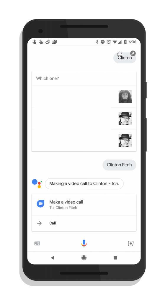 Make A Video Call With Google Duo from Google Assistant