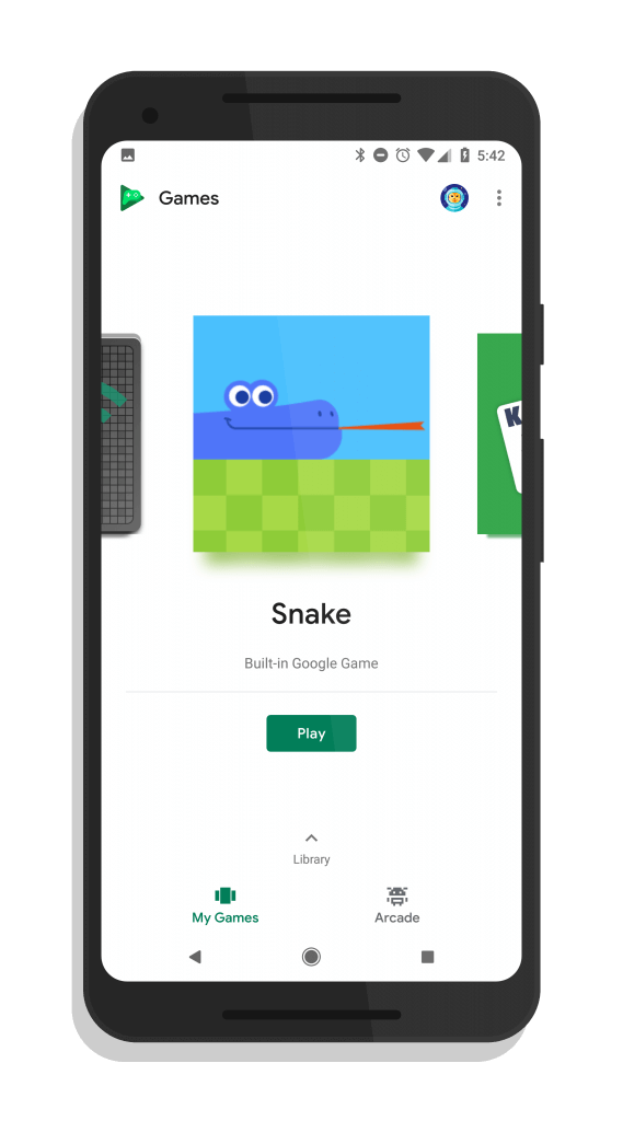 Snake Game in Google Play Games