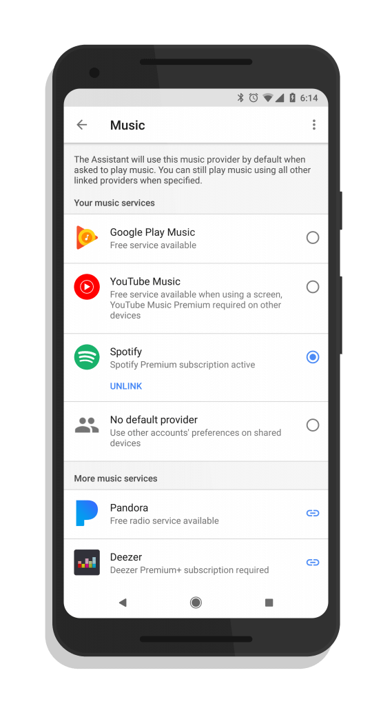 YouTube Music in Google Assistant